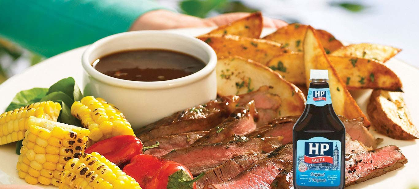 Marinated Steak with Sassy Beer Sauce