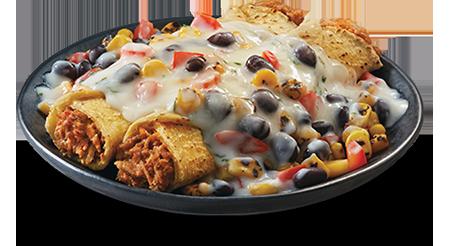 Enchiladas crémeuses au poulet