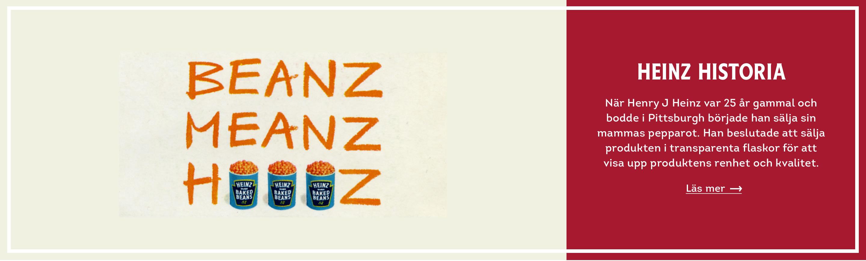 Heinz Historia banner