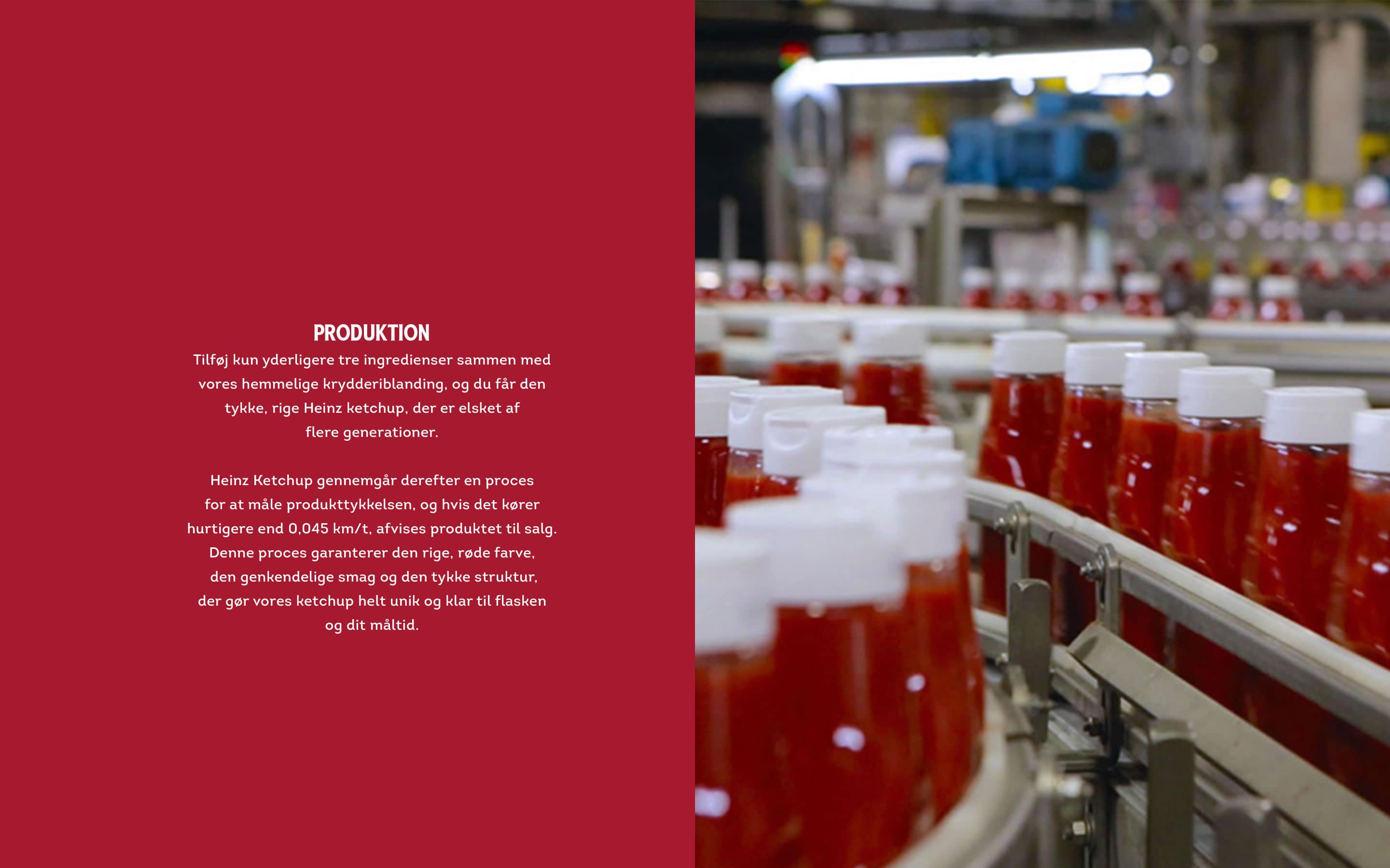 Transporting to ketchup factory, making and bottling