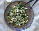 Broccolini and Kale Slaw