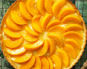 Peach and Lemon Flan