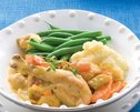 Chicken Casserole Cheesy Mash