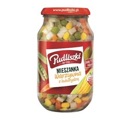 Mieszanka warzywna z kukurydzą 450 g